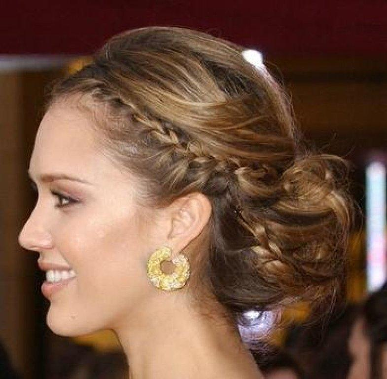33-Gorgeous-Braided-Updos Hairstyles For Round Face-36 Cute Hairstyles for This Year