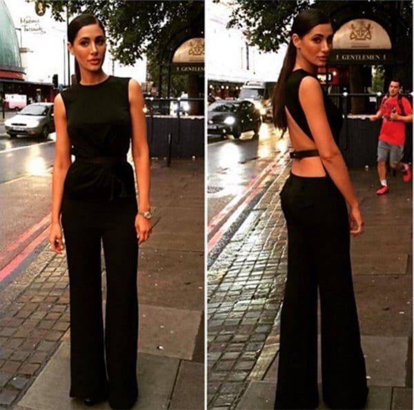 5-Nargis-Fakhri-in-a-Matchless-Jumpsuit Nargis Fakhri Outfits-32 Best Looks of Nargis Fakhri to Copy