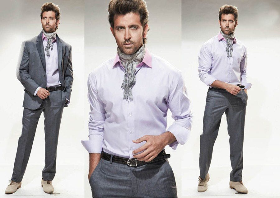 7-A-Classic-and-Timeless-Party-Outfit Hrithik Roshan Outfits-30 Best Dressing Styles of Hrithik Roshan