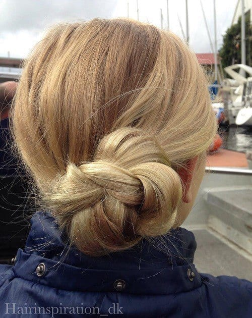 7-side-braided-bun-updo-for-teens Easy and Quick Hairstyles–Top 10 Super Fast Hairstyles to Do