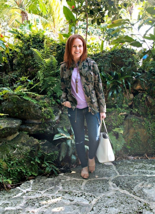 Camo Spring Fashion Tips–10 Fashion Ideas for Transitional Weather