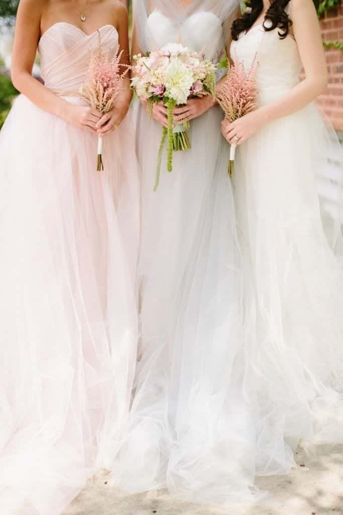 Katie-Kett-Photography-via-Style-Me-Pretty-683x1024 Bridesmaid Outfit Ideas for 2019- What to Wear as Bridesmaid
