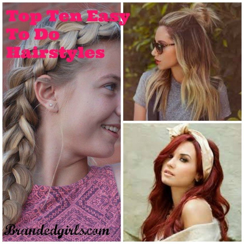PicMonkey-Collage-10-1024x1024 Easy and Quick Hairstyles–Top 10 Super Fast Hairstyles to Do