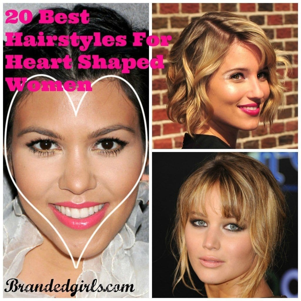 PicMonkey-Collage-11-1024x1024 20 Best Hairstyles for Heart Shaped Face Women