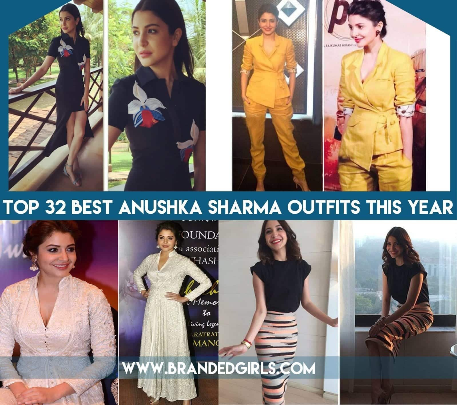 Top 32 Anushka Sharma Outfits This Year