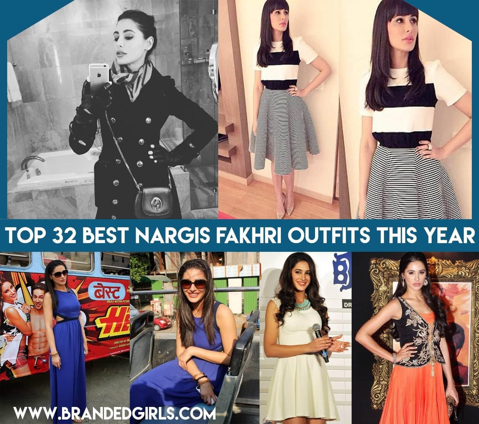 Top 32 Best Nargis Fakhri Outfits