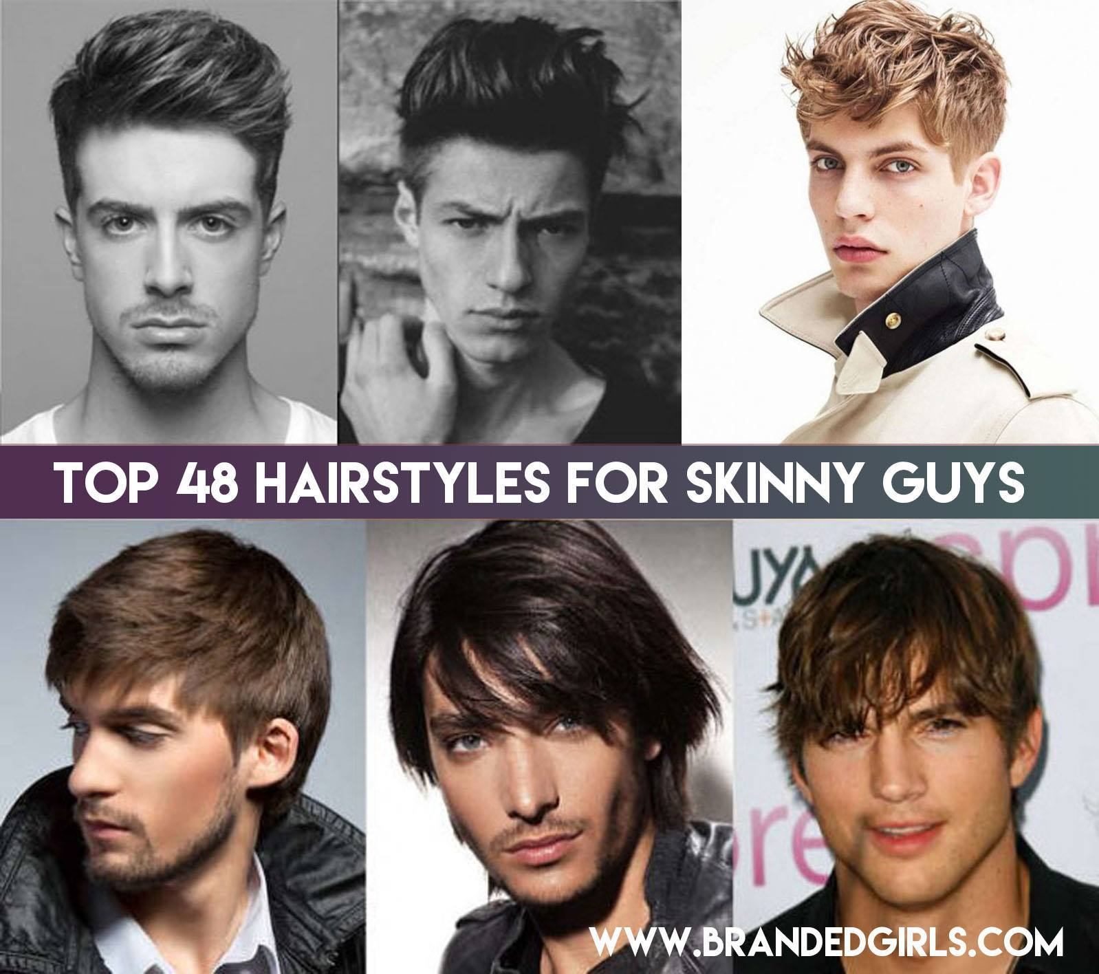 48 New Hairstyles For Skinny Boys Trending These Days
