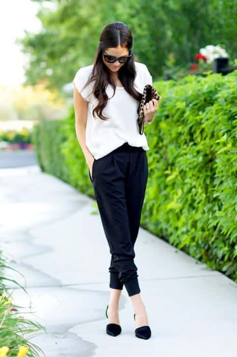 black-and-white Workplace Fashion Ideas – Top Ten Office Wears for 2016
