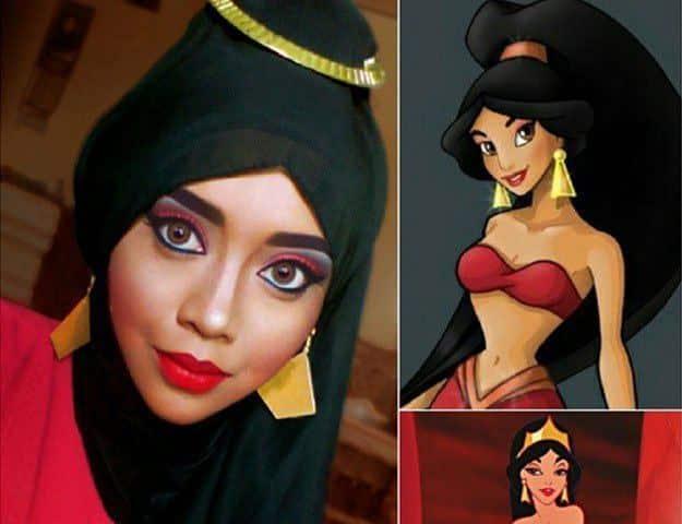 disney-7 Disney Princesses in Hijab-11 Pics of Disney Princesses Muslim Version