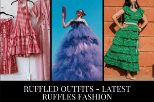 Ruffles & Frills Trend | 20 Ways to Wear Ruffled Outfits