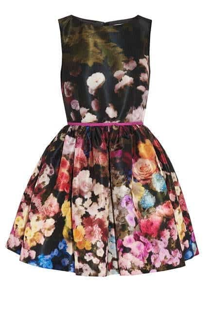taffeta Floral Print Outfits– Top 20 Flowery Pattern Ideas For Girls
