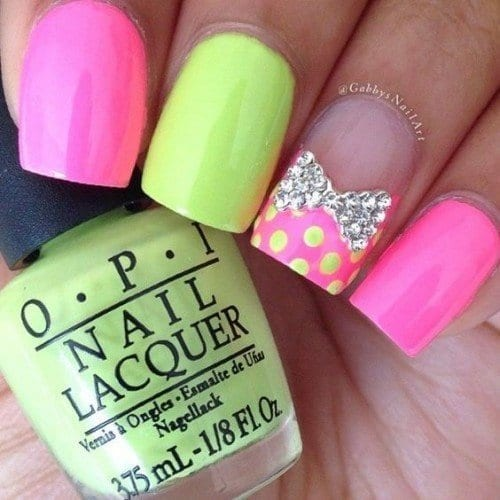 03375cd711465d4616cd203c171ce2fe-500x500 Short Nail Designs - 25 Cute Nail Art Ideas for Short Nails