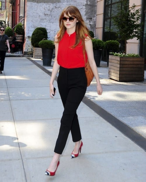 1-A-Swagger-Street-Style-to-Date Emma Stone Outfits-25 Best Dressing Styles of Emma Stone to Copy