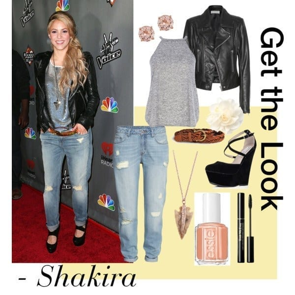 11-A-Flawless-Party-Look Shakira Outfits - 25 Best Dressing Styles of Shakira to Copy