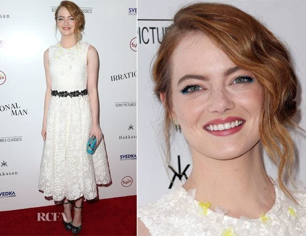 11-A-Simplistic-Classic-Style Emma Stone Outfits-25 Best Dressing Styles of Emma Stone to Copy