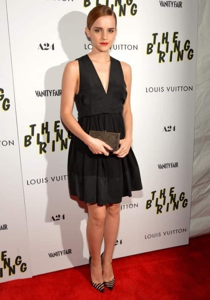 11-In-a-Hot-Black-Outfit-716x1024 Emma Watson Outfits - 25 Best Dressing Style of Emma Watson