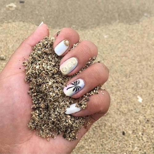 12424430_1752478441650475_245558363_n-500x500 Short Nail Designs - 25 Cute Nail Art Ideas for Short Nails