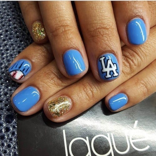 12501535_209720859404526_1678832256_n-500x500 Short Nail Designs - 25 Cute Nail Art Ideas for Short Nails