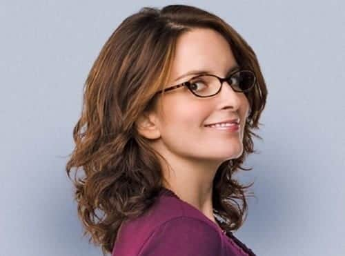 14-Tina-Feys-Ideal-Mean-Girl-Hairstyle 37 Cute Hairstyles for Women with Glasses this Year