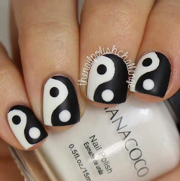 1_classy_nail_art_designs_for_short_nails1 Short Nail Designs - 25 Cute Nail Art Ideas for Short Nails