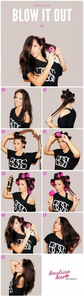 2-The-Blissful-Blowout-Day-291x1024 How to do Blowout-20 Ideas for Messy and Blowout Hairstyles