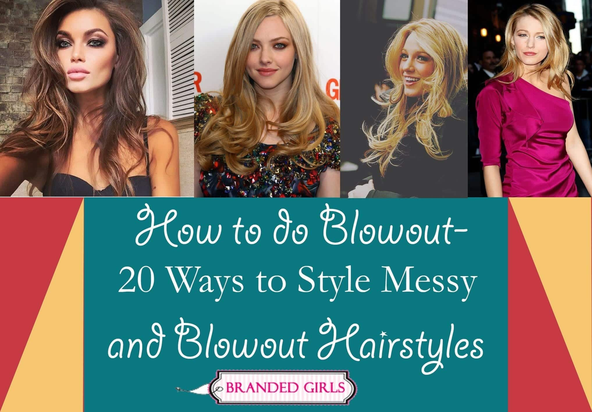20-ways-to-style-messy-and-blowout-style How to do Blowout-20 Ideas for Messy and Blowout Hairstyles