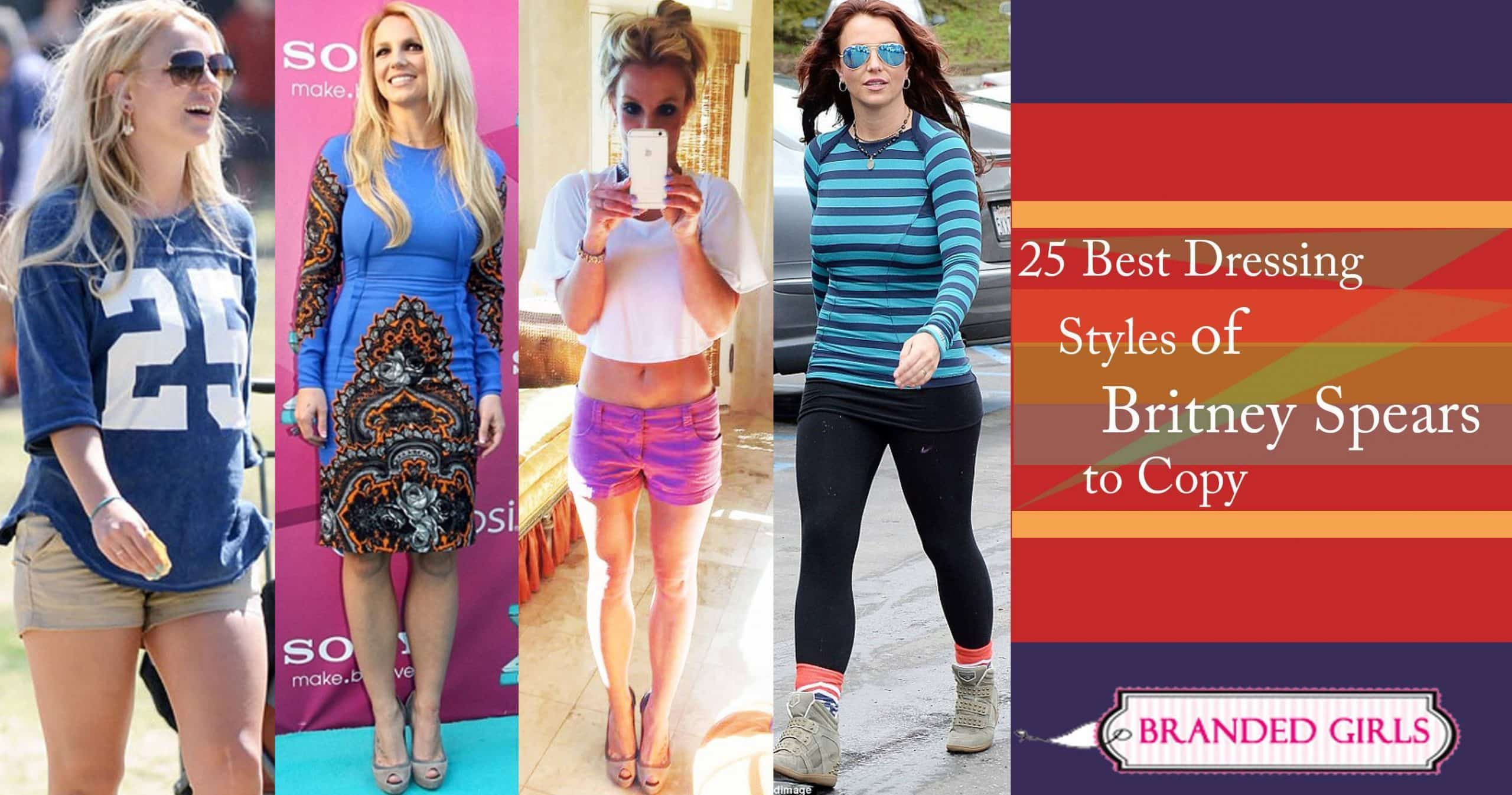 Britney Spears Outfits25 Best Dressing Styles of Britney to Copy