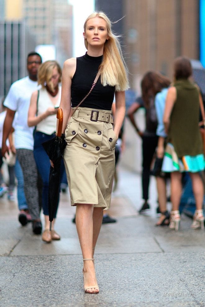 26-Fancy-Pencil-Skirt-Style Women Summer Street Style-30 Cute Summer Styles to Copy in 2016