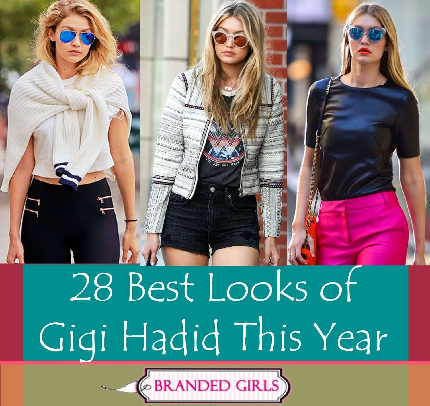 28 best looks of gigi hadid this year