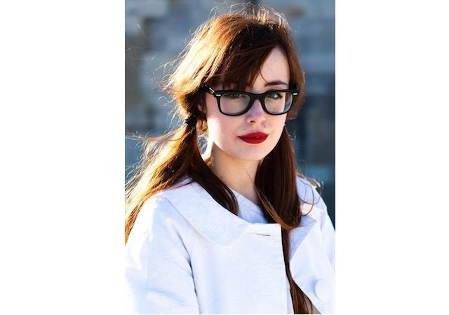 3-The-Hottest-Two-Ponytail-Hairdo 37 Cute Hairstyles for Women with Glasses this Year