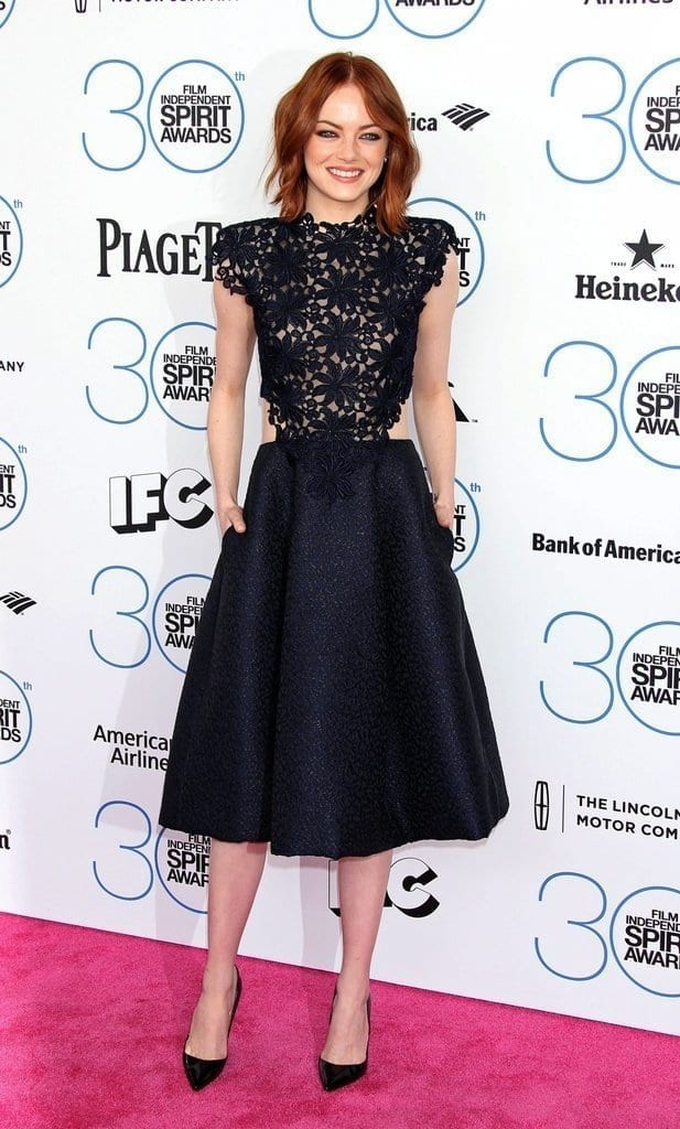 4-An-Appealing-Skirt-Outfit-617x1024 Emma Stone Outfits-25 Best Dressing Styles of Emma Stone to Copy