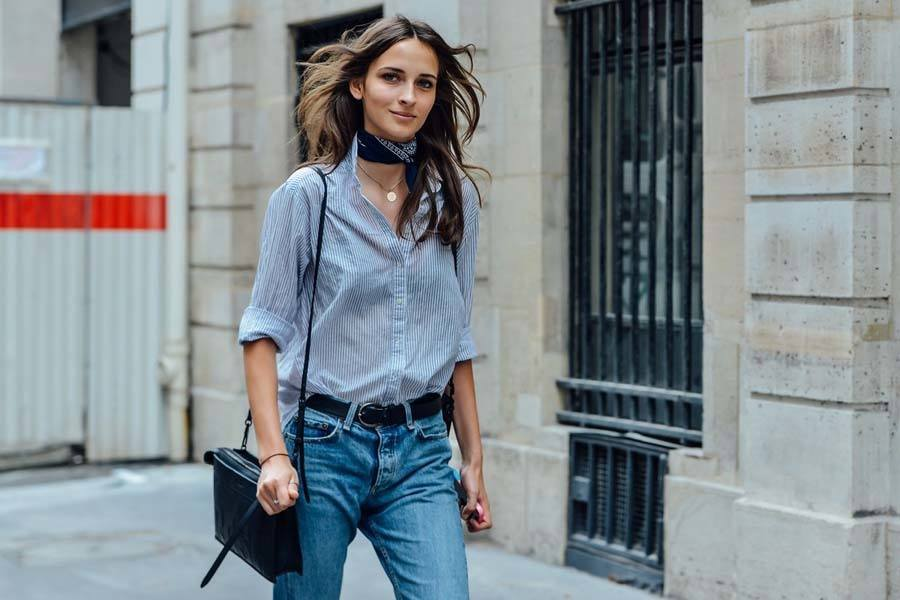 5-A-Messy-Jean-Outfit-Style Women Summer Street Style-30 Cute Summer Styles to Copy in 2019
