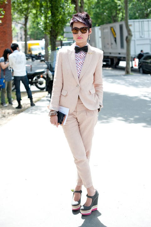 5-The-Cutest-Ever-Nude-Suit-to-Date Latest Nude Outfit ideas-18 Ways to Wear Nude this Year