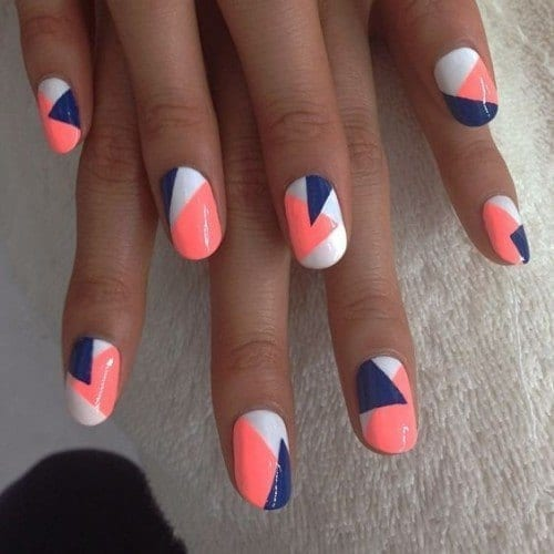 57173f26be1c780b6c9f4bd14b1efc31-500x500 Short Nail Designs - 25 Cute Nail Art Ideas for Short Nails