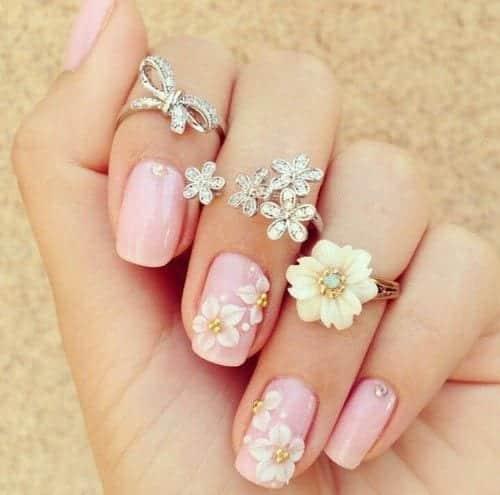 68fa22d485d9f9f7a1c71dbb24fc4337 Short Nail Designs - 25 Cute Nail Art Ideas for Short Nails