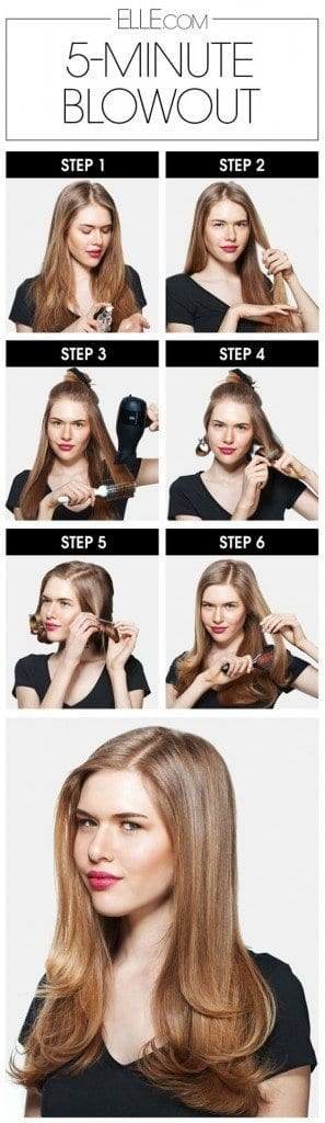 8-The-5-minute-Blowout-Scheme-297x1024 How to do Blowout-20 Ideas for Messy and Blowout Hairstyles