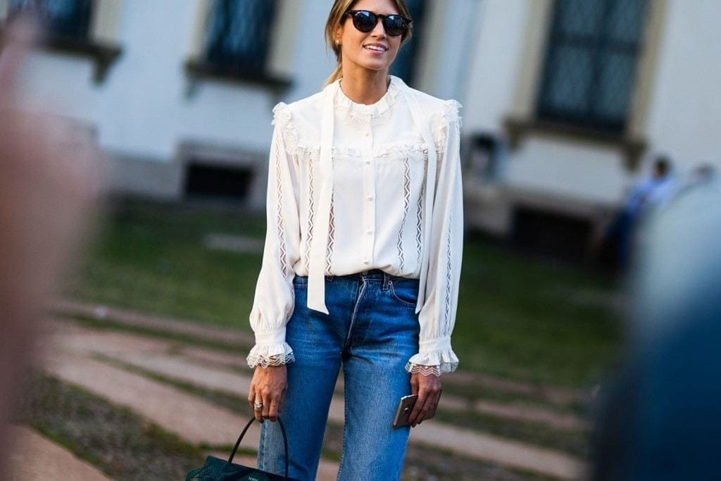 8-The-First-Ever-Formal-Jeans-Outfit-Style-1024x683 Women Summer Street Style-30 Cute Summer Styles to Copy in 2016