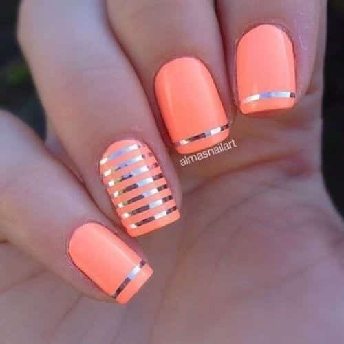 862a6688a23f5be66f2e4f2493205f0c-500x500 Short Nail Designs - 25 Cute Nail Art Ideas for Short Nails