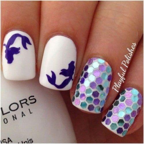 8689764502a459636de7868350fc8485-500x500 Short Nail Designs - 25 Cute Nail Art Ideas for Short Nails