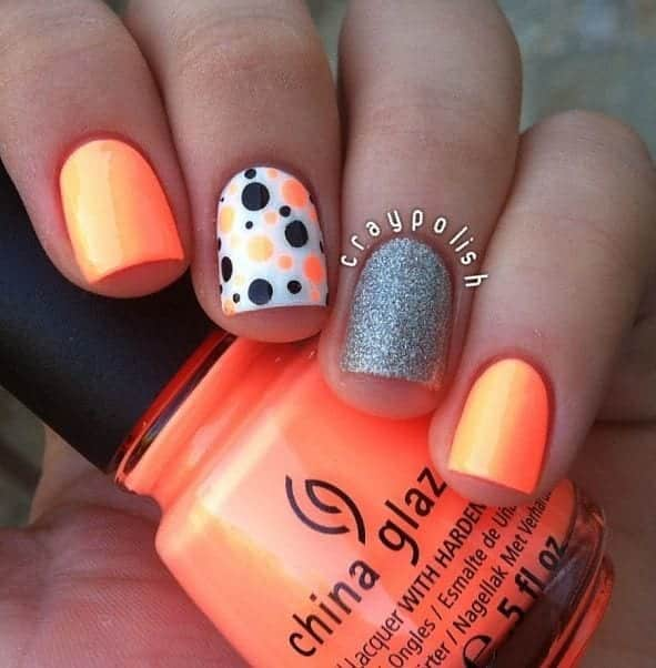 Amazing-Nail-Art-Design Short Nail Designs - 25 Cute Nail Art Ideas for Short Nails