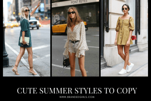 Women Summer Street Style – 30 Summer Styles to Copy in 2021