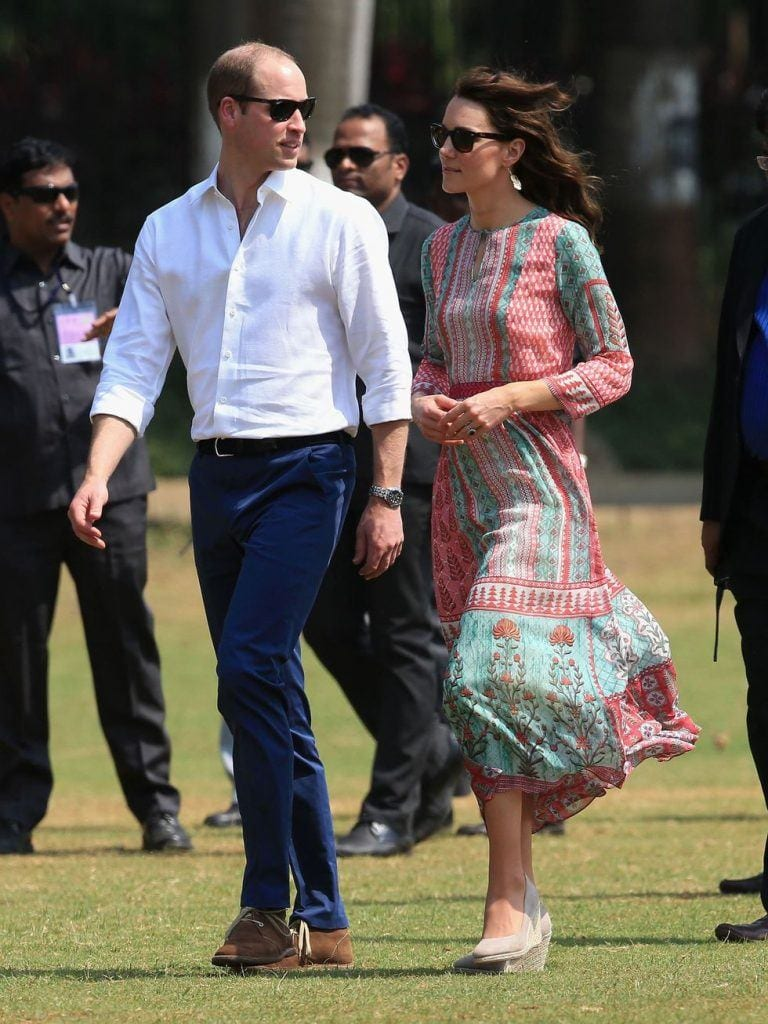 Duchess-in-chic-asian-prints-768x1024 Kate Middleton's Outfits-25 Best Dressing Styles Of Kate To Copy