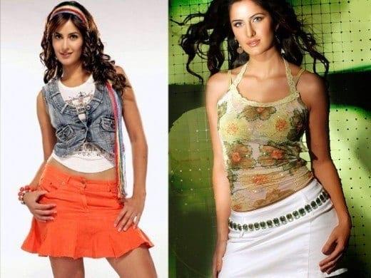 Katrina-Kaif-Skirt-Dress-Pictures-520x390 Katrina Kaif Outfits-25 Dressing Styles of Katrina Kaif to Copy
