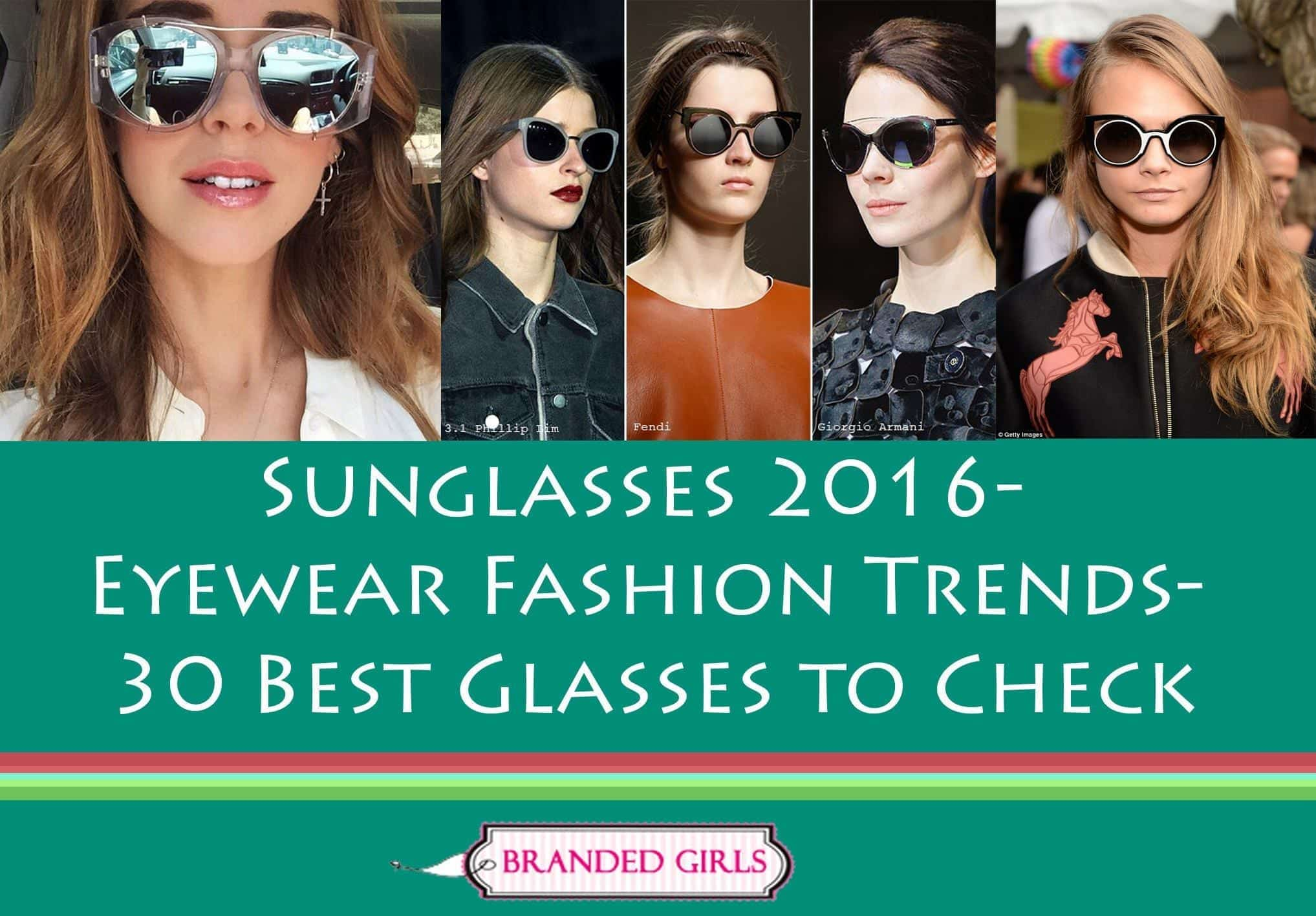 Sunglasses 2016-Eyewaear Fashion Trends-30 Best Glasses to Check