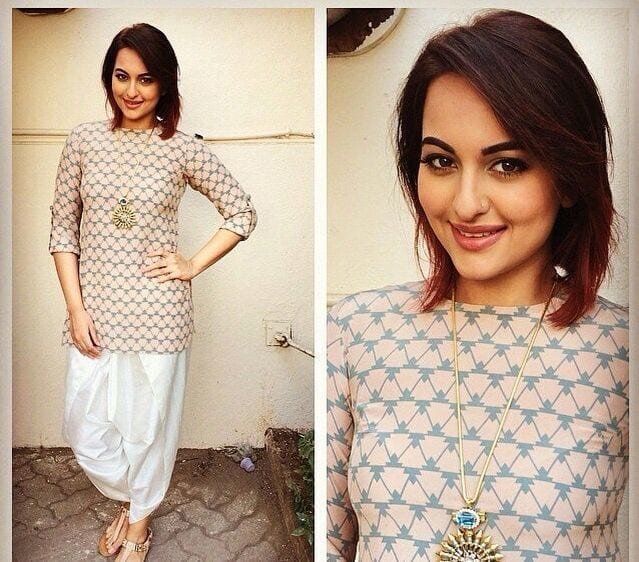 b2d9fd85531ab1bc8c15d35b2bd39f80 Sonakshi Sinha Outfits-25 Dressing Styles of Sonakshi to Copy
