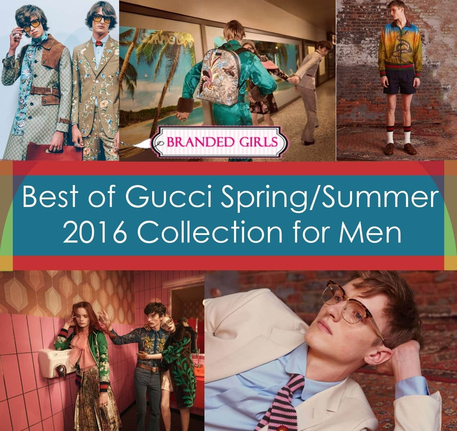 best of spring gucci fashion campaign