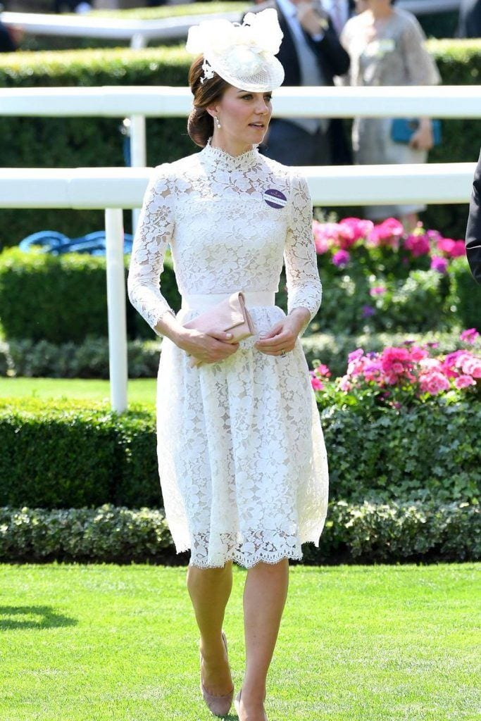 duchess-of-cambridge-Lace-Dress-683x1024 Kate Middleton's Outfits - 25 Best Dressing Styles Of Kate
