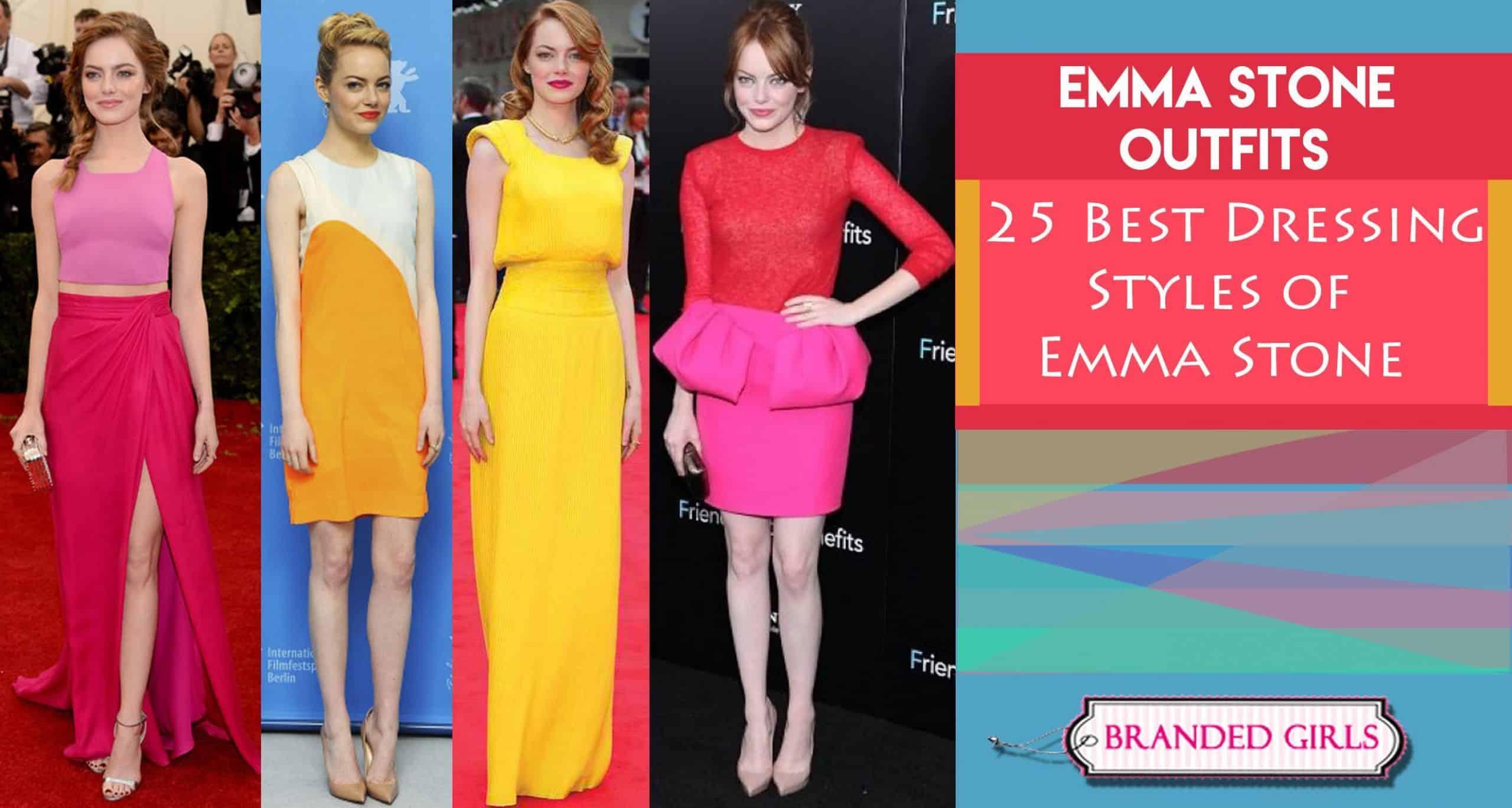 emma stone outfits