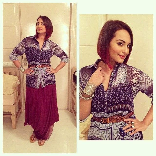 f93d8d36cb39bee8824b0f3eb8b2f397 Sonakshi Sinha Outfits-25 Dressing Styles of Sonakshi to Copy