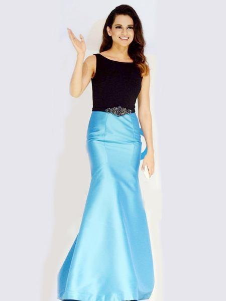kangna_ranut_gown Kangna Ranaut Outfits – 30 Best Dressing Styles of Kangna